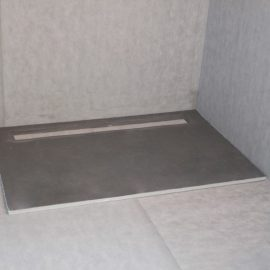 Shower Bases For Tiling Base Systems Marmox New