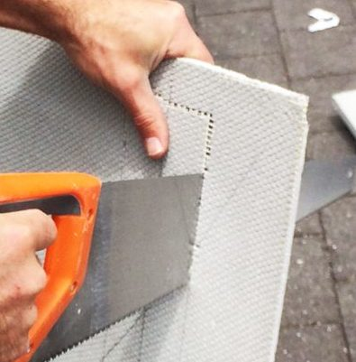 cutting a Marmox board | Marmox NZ